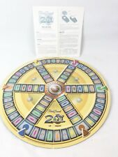 Trivial Pursuit 20th Anniversary Edition Replacement Game Board w/ Instructions