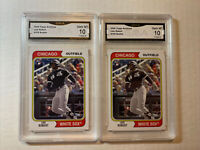 (2) LUIS ROBERT 2020 TOPPS ARCHIVES #159 RC GEM MINT GMA 10 INVEST WHITE SOX 📈