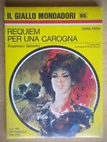 Requiem per una carognaGatenby RosemaryMondadori1969il giallo1045nera 221