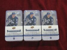2017 TORONTO MAPLE LEAFS CENTENNIAL TIN 3 Lot  36 packs 3  Cup Banners  Sealed