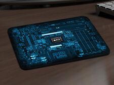 Chip de computadora ratón MAT Mac Pc Apple Juegos Alfombrilla de escritorio Grueso juego de video 702