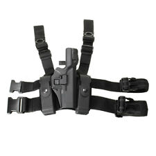 Tactical Level 3 Right Drop Leg Thigh Lock Duty Pistol Holster Glock 17 19 22
