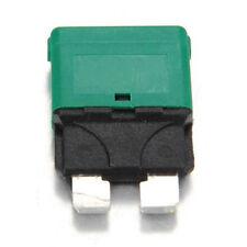 30 Amp Blade Fuse Reset Fuse Circuit Breaker Automotive Manual Resetable 28V