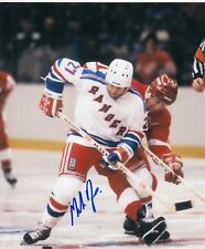 Mike Rogers New York Rangers autographed signed 8x10 Photograph w/COA