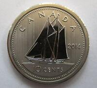 2014 CANADA 10 CENTS SPECIMEN DIME COIN