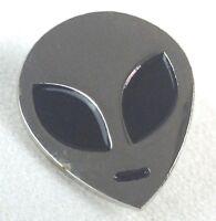 Alien Head - X-FILES TV Series - Enamel Pin - Fox Mulder & Dana Scully