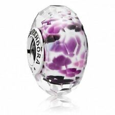 Authentic Pandora Charm SHORELINE SEA #791608 Murano Glass Bead NEW