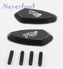 Motorcycle Mirror Block Off Base Plates For Yamaha YZF R6 2003 2004 2005 2006