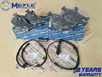 FOR BMW X5 E53 3.0 4.4i 00-07 FRONT REAR MEYLE BRAKE PADS WIRE WEAR SENSOR