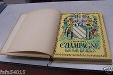 VISAGES DE LA CHAMPAGNE horizons de france 1947 TBE