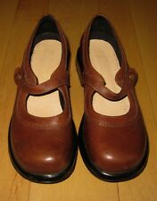 Dansko Womens Brown Leather Mary Jane Shoes 40 US 8.5 / 9