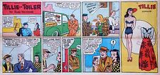 Tillie by Westover - w/ uncut Paper Doll - Sunday comic page - Nov. 10, 1946