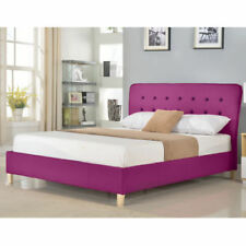 Fabric Pink Beds & Mattresses