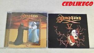 CD SYMPHONY X - V - musique métal - Bon état