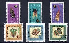 Butterflies Used Vietnamese Stamps
