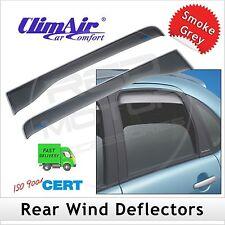 CLIMAIR Car Wind Deflectors LAND ROVER DEFENDER 1983 1984 1985 1986 onwards REAR