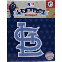 St Louis Cardinals Fathers Day Blue Sleeve Jersey Patch
