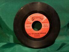 Scepter The Shirelles Will You Still Love Me / Boys  45 rpm record