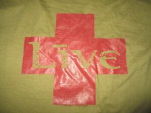 Vintage Brockum Label - 1998 LIVE Concert Tour (XL) T-Shirt Ed Kowalczyk (NEW)