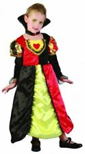 Toddlers Queen Fancy Dress Girls Kids World Book Day School Costumes Age 4 Years