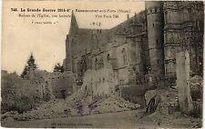 CPA La Grande Guerre 1914-15 Rembercourt-aux-Pots (Meuse)-Ruines ... (178534)