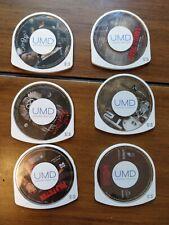Lot Of 6 Psp Umd Movies