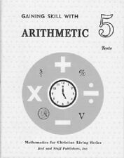 Rod and Staff - Math -Gaining Skill with Arithmetic 5 Chapter Tests