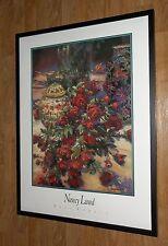 Nancy Lund Impresiones, Rose descanso, Flor De Arte De Pared, 60x80cm Enmarcado