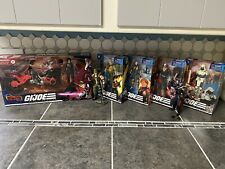 G.I. Joe Classified Figure Lot Baroness, Storm Shadow, And More!