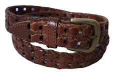 Vintage SONOMA Chain Genuine Leather Women's Belt Sz 32