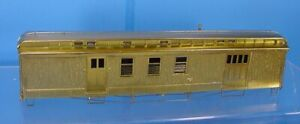 On3 BRASS PRECISION SCALE CO. 15047 D&RGW RPO BAGGAGE MAIL CAR #60 OR #122