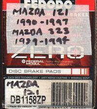Mazda Ferodo Zero Disc Brake Pads, (121) 1990-97 & (323) 1989-1994 DB1158ZP