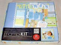 "2011 Me & My Big Ideas - Mambi Kit (Album Box Kit) Baby Boy 8"" x 8"" (New)"