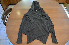 Women's Hollister California Open Front Hooded Sweater Size Extra Small / Small