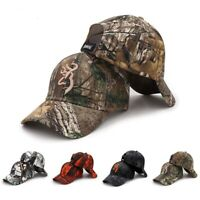 Camo Baseball Cap Fishing Hunting Camouflage Jungle Hat Airsoft Tactical Hiking