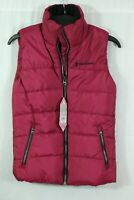 Women's Free Country Quilted Puffer Vest Size Small Winter Coat Zip MSRP $80