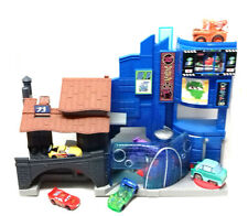 Fisher Price Imaginext Disney Pixar CARS BIG CITY town toy figure set & Cars