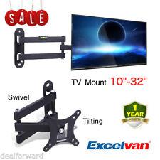 Excelvan TV Wall Mount Bracket Tilt Swivel for 10 16 20 24 26 29 30 32 inch TV