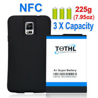 11800mAh Extended Battery + Black TPU Case For Samsung Galaxy Note 4 SM-N910V