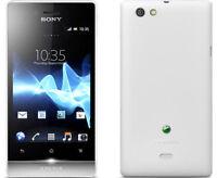 "Unlocked Sony XPERIA miro ST23i 4GB  3.5"" Wifi Android Smartphone White"