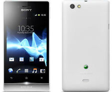 Unlocked Original Sony XPERIA miro ST23i 4GB 5MP Android Smartphone White