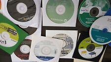 Router Modem &Adapter Software LINKSYS Startech Motorolla Trendnet CD'S READ****