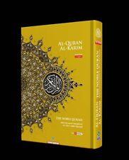MEDIUM B5 Quran Mustard Word for Word Arabic English Translation Colour Tajweed