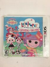 Lalaloopsy: Carnival of Friends  (Nintendo 3DS, 2012) New Sealed