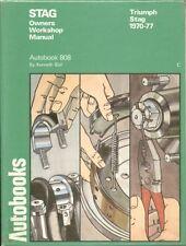 TRIUMPH STAG MK1 & MK2 MANUAL / AUTO ( 1970 - 1977 ) OWNERS WORKSHOP MANUAL