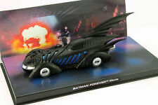 DC Batman Automobilia Collection #4 BATMOBILE BATMAN FOREVER 1995 NERO 1:43