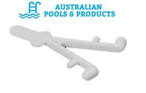 Aussie Gold Telescopic Pool Pole Wishbone Spring Clip V Clip