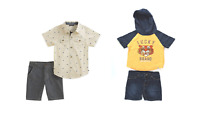 NEW Lucky Brand Boys 2-Piece Shirt & Shorts Set - 2T / 3T / 4T / 5T / 6 / 7