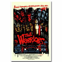 136153 THE WARRIORS Classic Movie Wall Print Poster Affiche