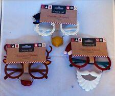 Christmas Craft Novelty 3D Christmas Glasses - 3 Designs